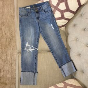 Kut from the Kloth cropped denim